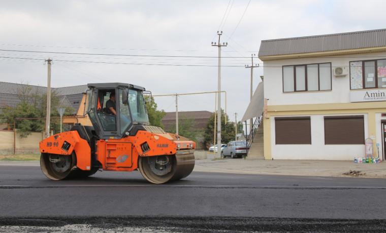 В рамках нацпроекта в Грозном отремонтируют улицу 1-я Линия