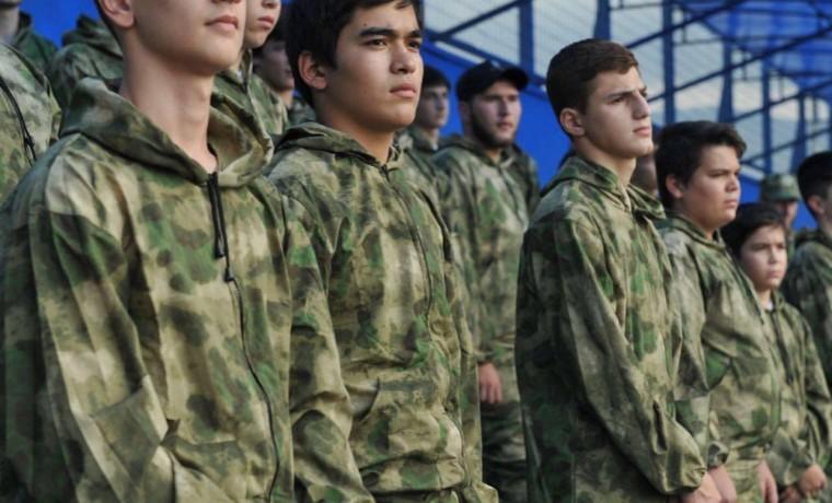 Дети погибших сотрудников Росгвардии принимают участие в военно-патриотическом проекте «Патриот»