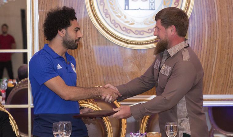 Мохаммад Салах стал Почетным гражданином Чеченской Республики