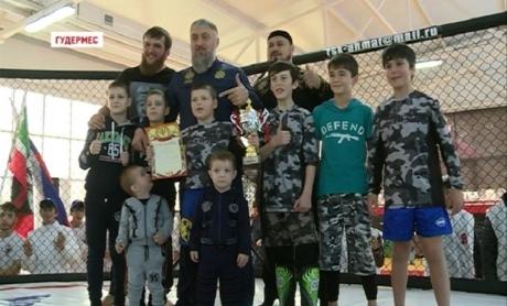 В Гудермесе прошел турнир по смешанным единоборствам среди юниоров «Битва кубок Ахмата 2»