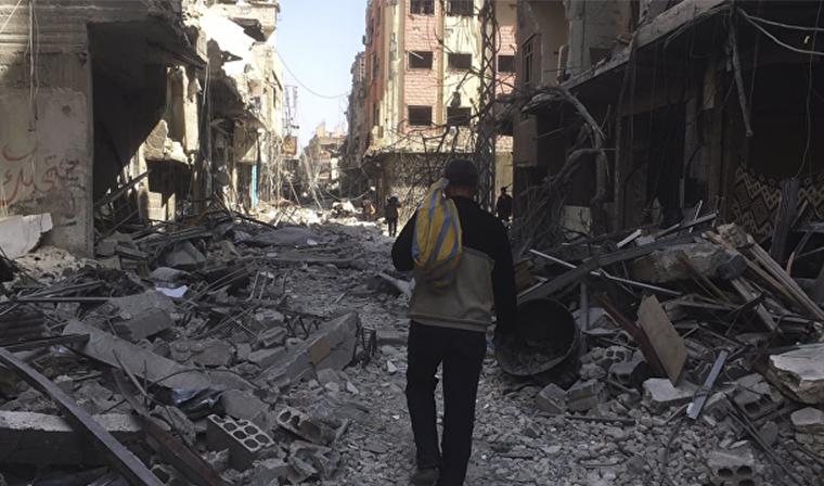 Сирийская армия установила полный контроль над Восточной Гутой
