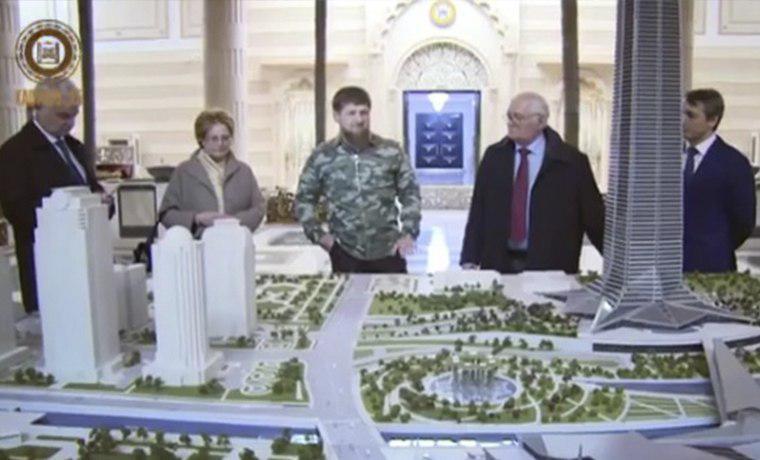 Рамзан Кадыров встретился с министром здравоохранения РФ Вероникой Скворцовой