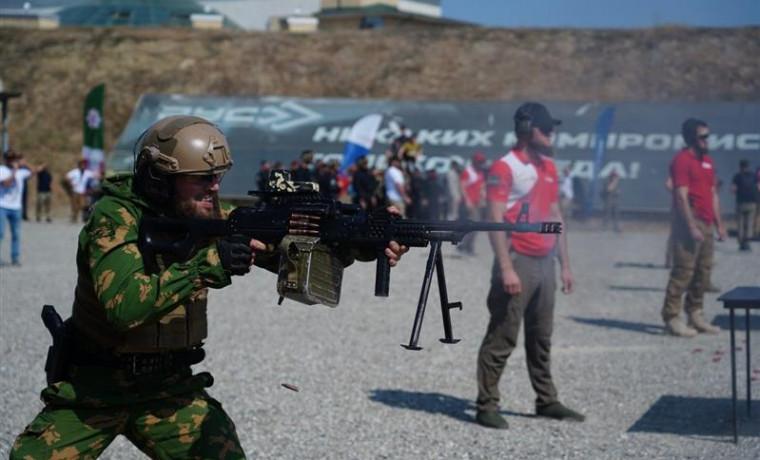 Команда чеченского управления Росгвардии завоевала кубок чемпионата по тактической стрельбе