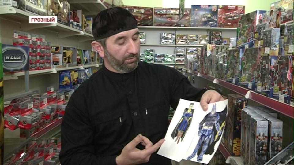 Кукольные персонажи от духовенства для чеченских детей