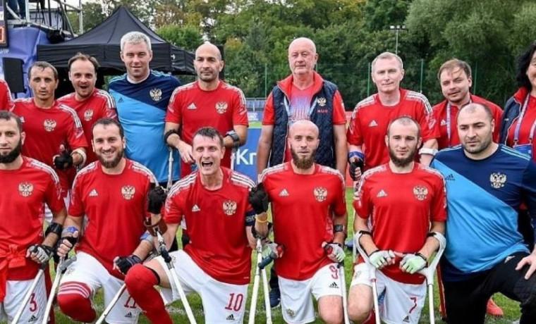 Чеченские футболисты участвуют в Чемпионате Европы по футболу среди ампутантов