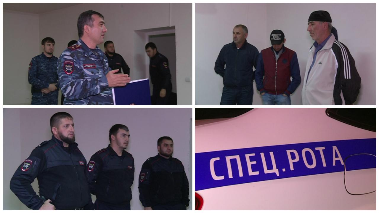 В Курчалоевском районе прошли рейды ГИБДД