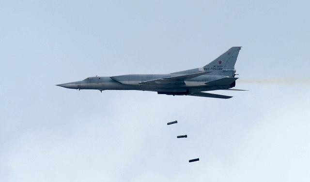 Военная авиация России нанесла бомбовые удары по скоплению боевиков в Сирии