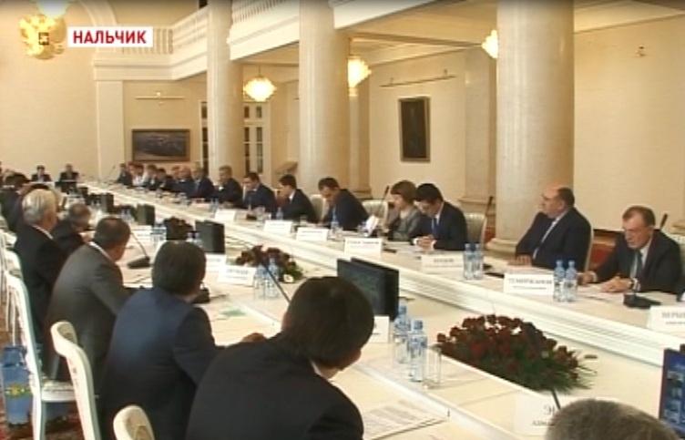 В Нальчике прошло заседание Совета по местному самоуправлению при полпреде Президента России