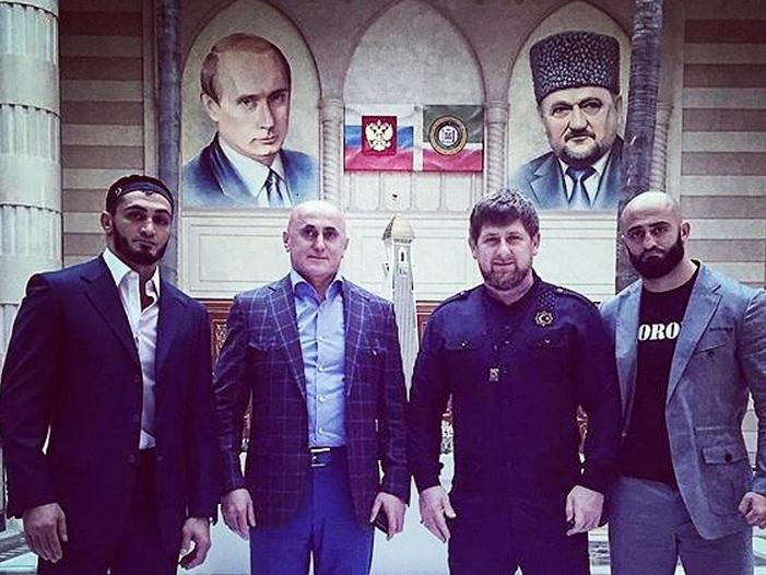 Рамзан Кадыров встретился с Алиханом, Абукаром и Адамом Яндиевыми