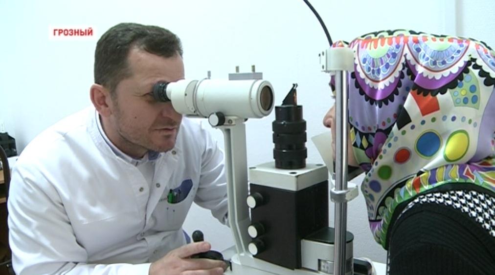 Республиканская клиническая больница Чечни обзавелась современным офтальмологическим оборудованием