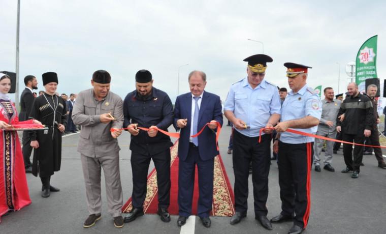 В ЧР состоялось открытие автодороги Грозный – Ведено – граница Дагестана