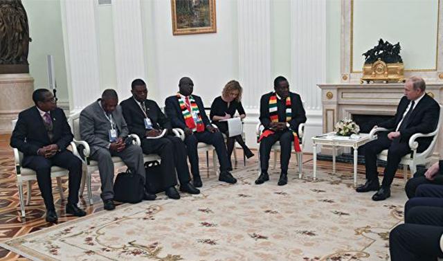 Россия и Зимбабве договорились о противодействии терроризму