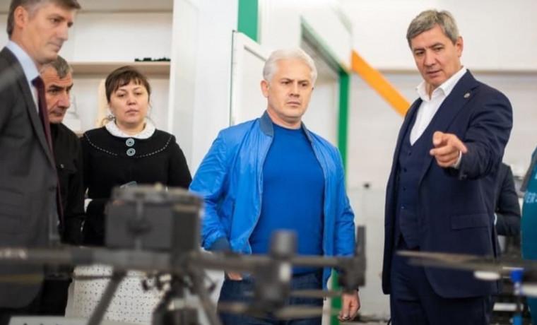 Муслим Хучиев находится с рабочим визитом в Республике Татарстан