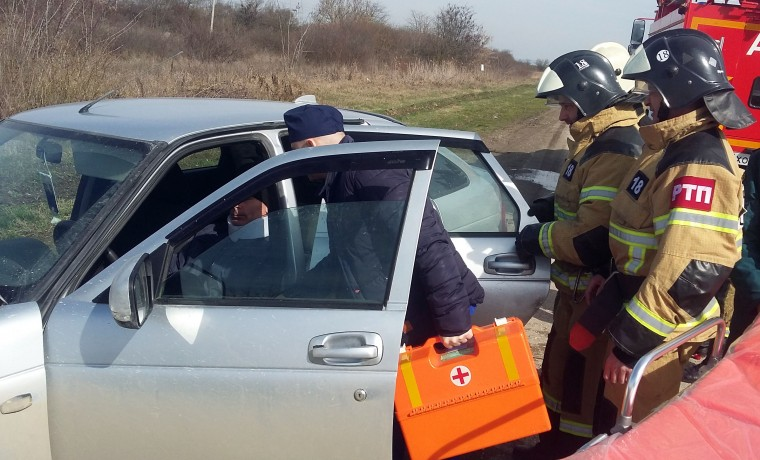 В городе Шали прошли учения спасательных служб