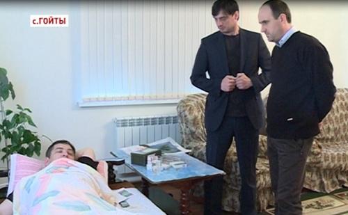 За здоровье жителя Чечни будут бороться Петербургские врачи