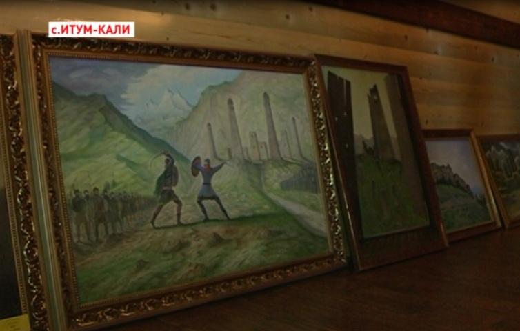 Молодой художник Чечни готовится к выставке в Германии и США