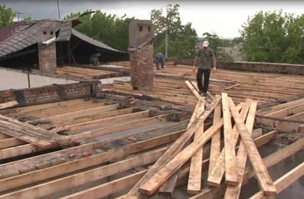 В Грозном завершается ремонт сгоревшего дома на улице Ашхабадская
