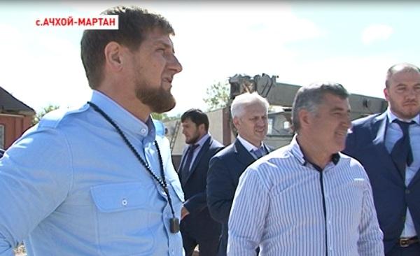Рамзан Кадыров недоволен темпами реконструкции Ачхой-Мартановского района