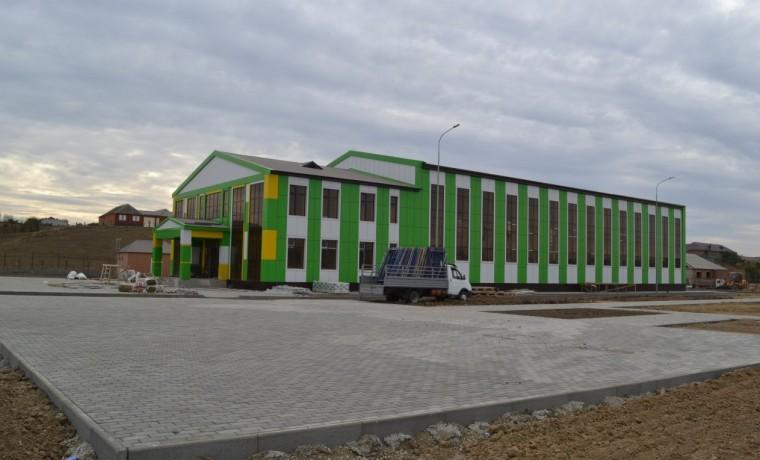 В ЧР завершается строительство двух оздоровительных комплексов спортивного нацпроекта