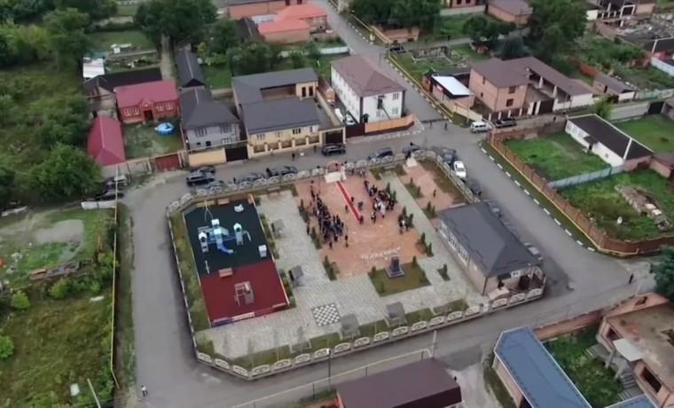 К 70-летию со дня рождения Ахмата-Хаджи Кадырова в Шатое открыли парк