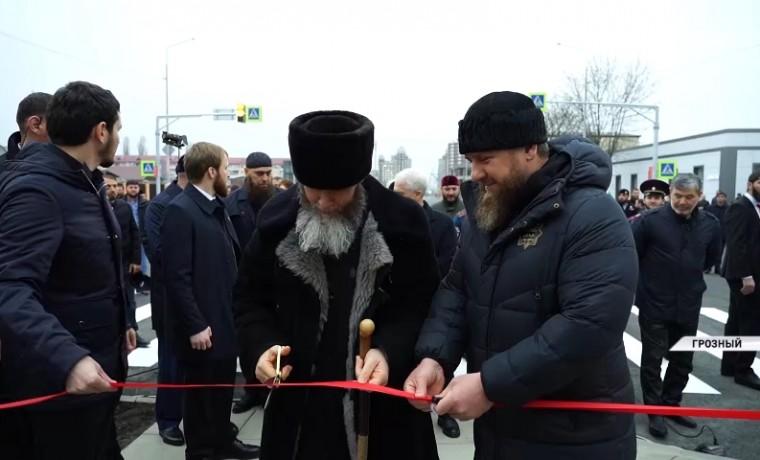 Рамзан Кадыров принял участие в открытии обновленного проспекта в Грозном