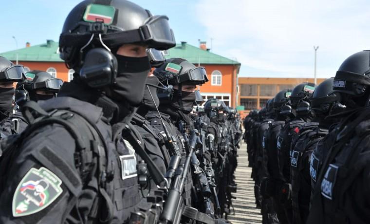 Полк им. А.А. Кадырова провел открытые соревнования по тактической стрельбе