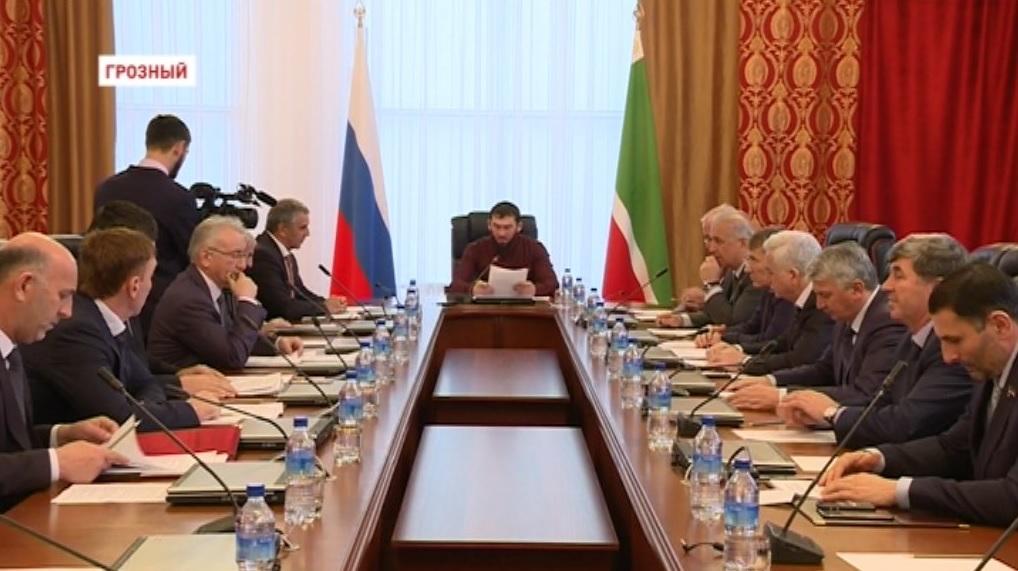 Состоялось второе заседание Совета Парламента Чечни