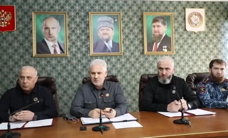 Муслим Хучиев провел выездное совещание по вопросам развития Ножай-Юртовского района