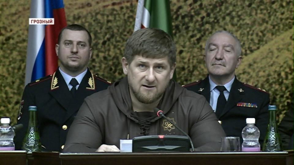 Призыв объединяться прозвучал на коллегии МВД в Грозном