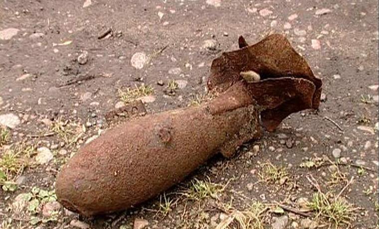 В Грозненском районе Чечни обезвредили бомбу 20-летней давности