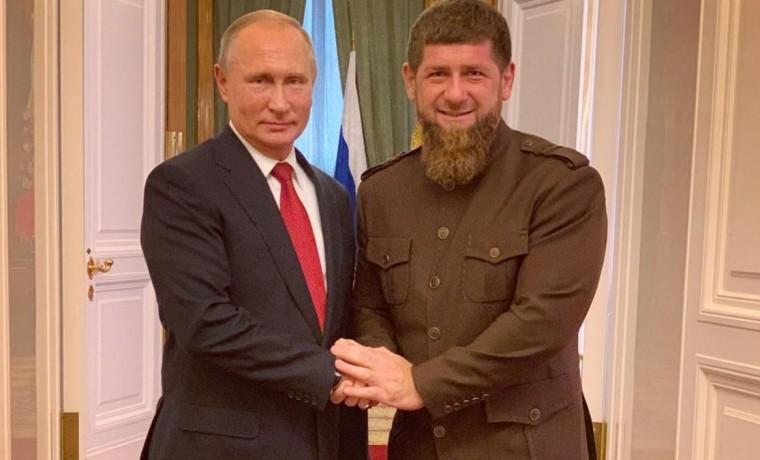 Владимир Путин поздравил Рамзана Кадырова с успешной спецоперацией по ликвидации террористов в ЧР