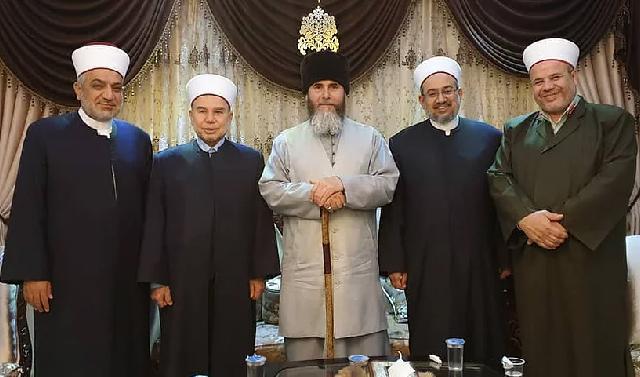 Салах-Хаджи Межиев обсудил сотрудничество с духовенством Иордании
