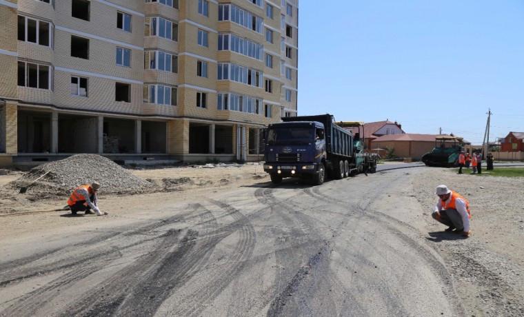 В Грозном в рамках нацпроекта отремонтируют улицу Рассветную