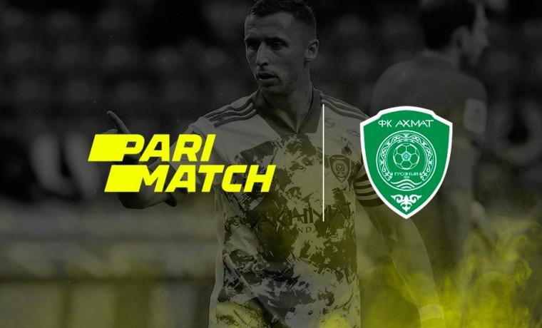 Parimatch стал официальным спонсором футбольного клуба «Ахмат»