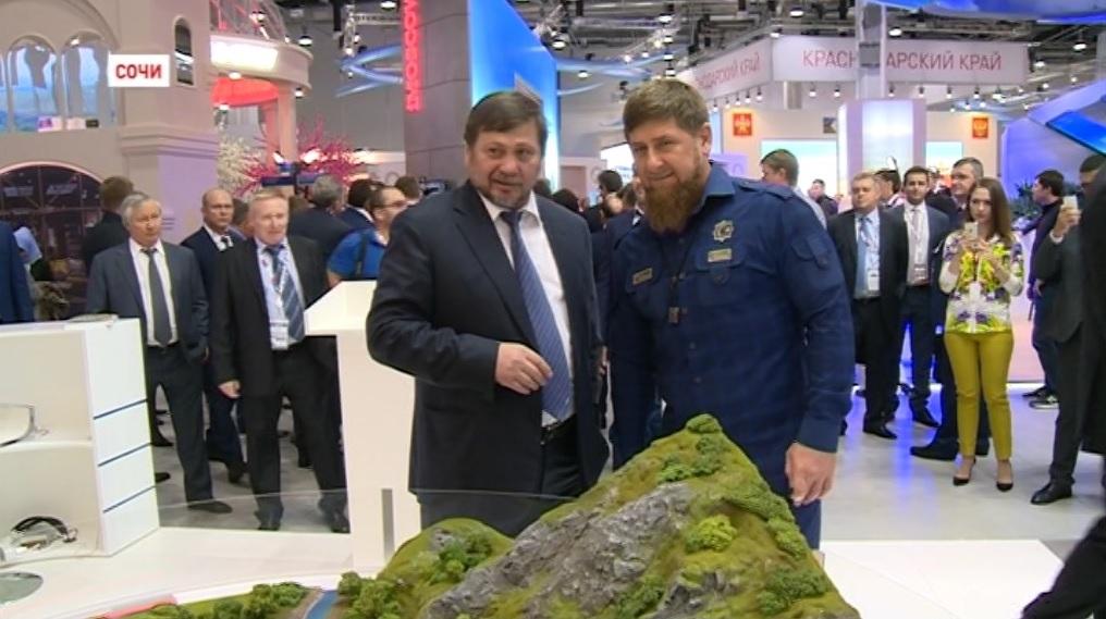 Рамзан Кадыров принял участие в Международном инвестиционном форуме в Сочи
