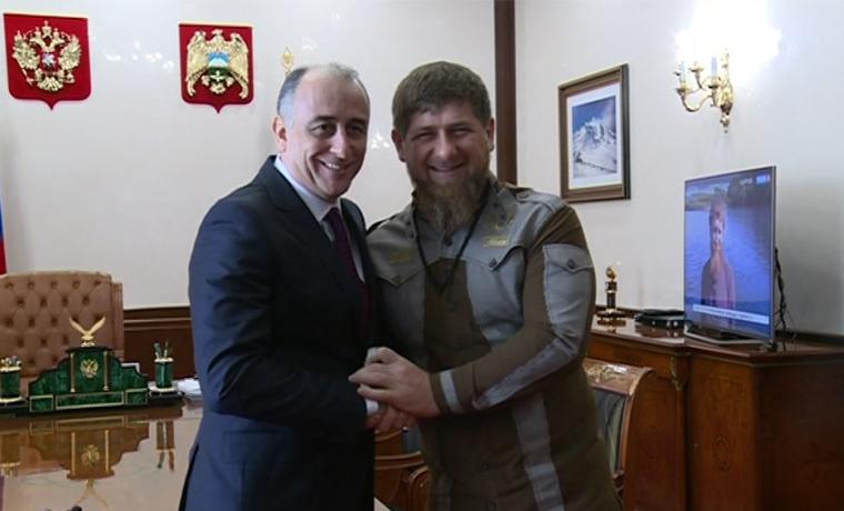 Чечня и КБР договорились о расширении сотрудничества в различных сферах