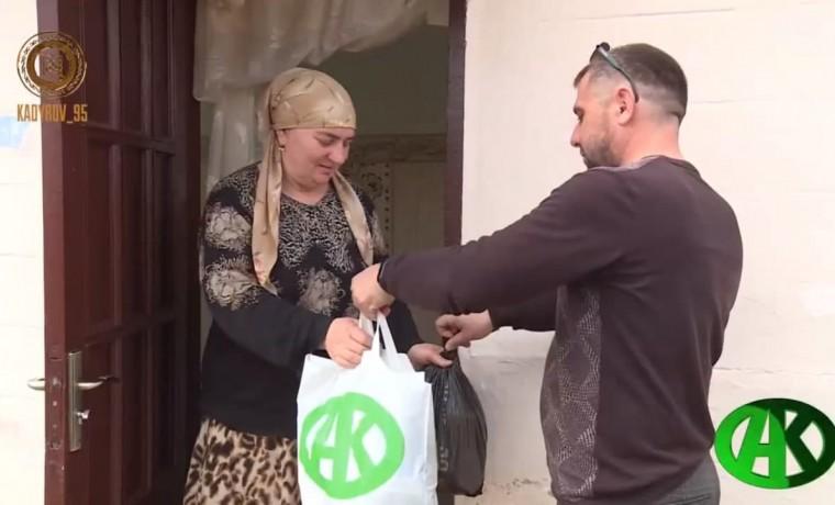 12 тысяч семей Веденского и Надтеречного районов получили продукты от РОФ им. А.-Х. Кадырова
