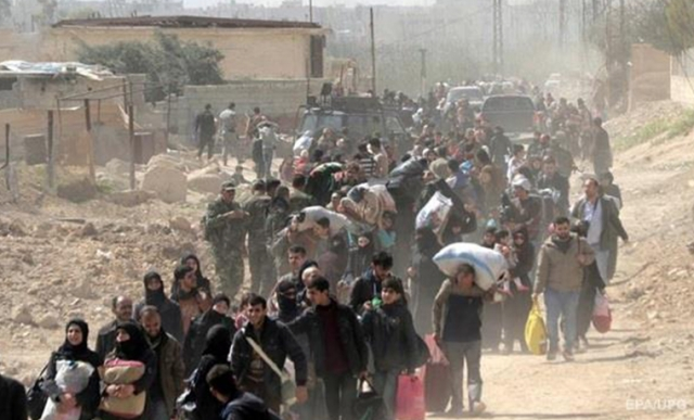 Почти 4 тысячи боевиков и членов их семей выведены за сутки из Восточной Гуты