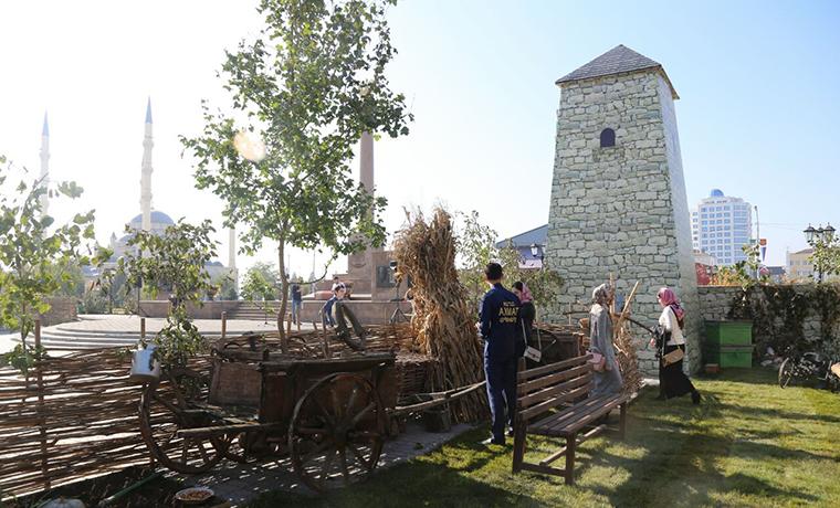 В столице Чечни открылась масштабная историческая реконструкция