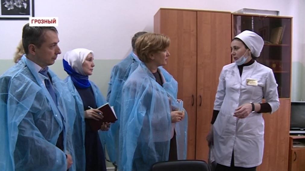В Грозный прибыл главный санитарный врач России
