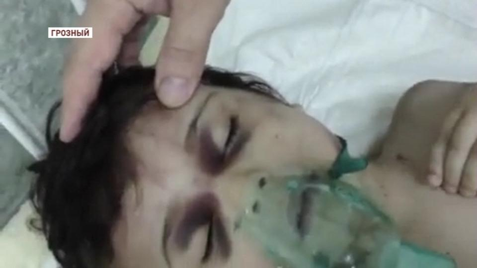 В Чечне мачеха жестоко избила маленького ребенка
