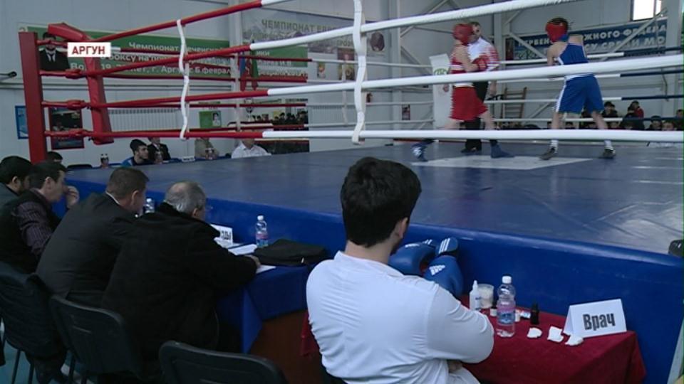 Финальное первенство по боксу в г. Аргун