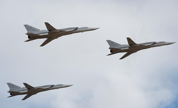 Шесть российских бомбардировщиков нанесли удар по позициям ИГИЛ в Сирии