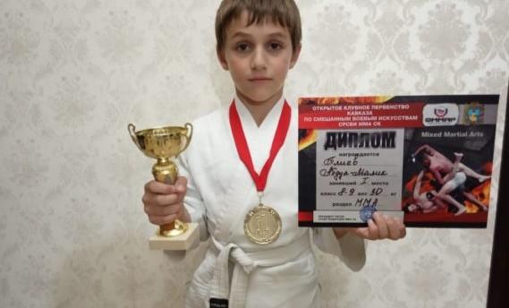 Юные чеченские спортсмены ММА завоевали награды в турнире «Воины Кавказа»
