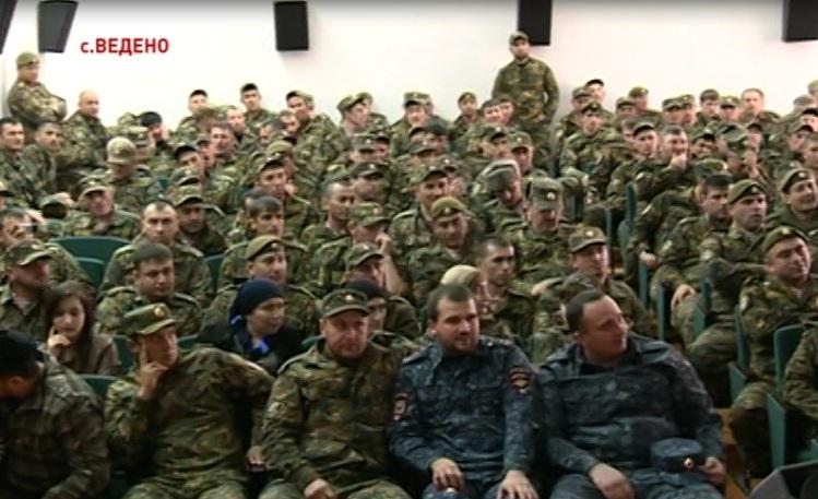 День внутренних войск МВД России отмечают силовые структуры Чеченской Республики