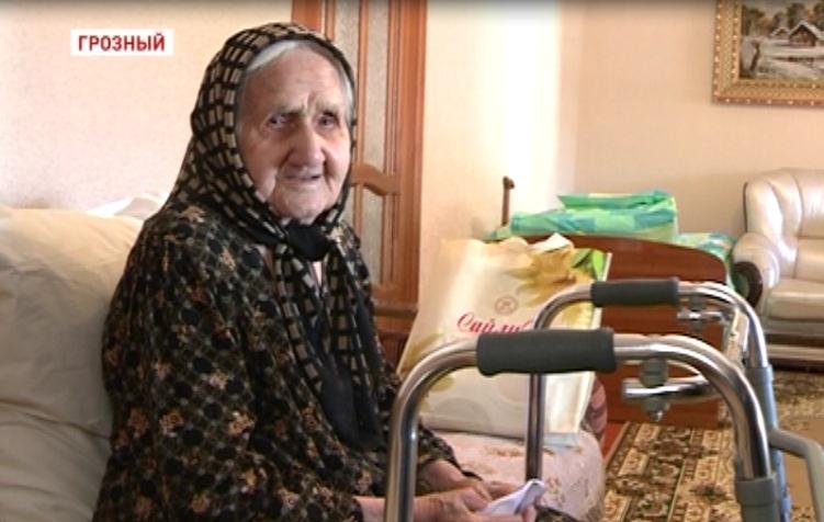 Долгожительниц Республики поздравили с 8 Марта