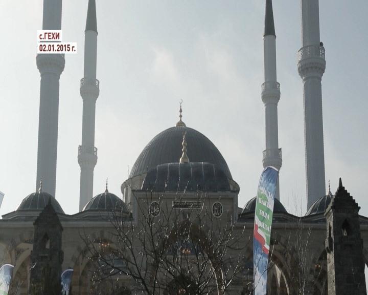В селе Гехи открылась новая мечеть