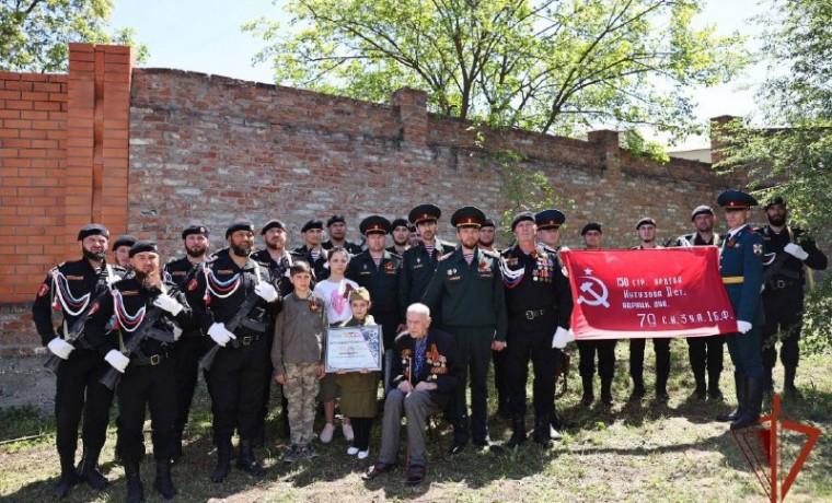 Росгвардейцы Чеченской Республики исполнили мечту ветерана Великой Отечественной войны