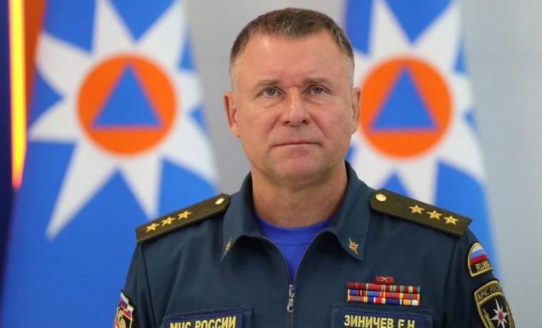 Глава ЧР выразил слова соболезнования по случаю гибели Главы МЧС Евгения Зиничева