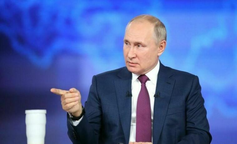"Путин: ""Рост цен на газ в Европе стал следствием дефицита электроэнергии, а не наоборот"""
